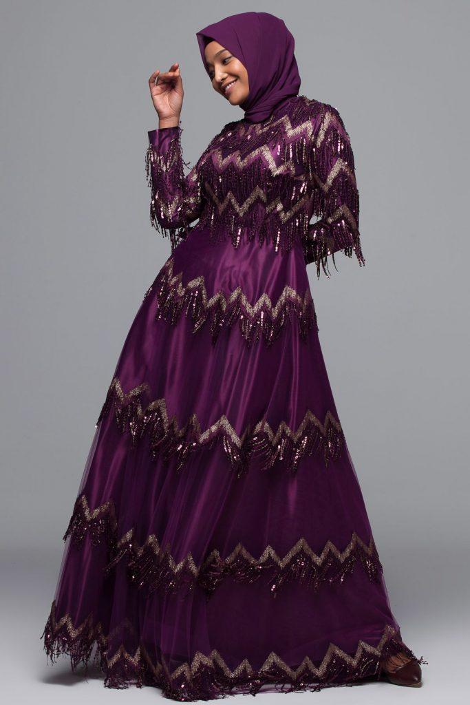 En Ucuz Armine Tesettur Abiye Elbise Modelleri 2