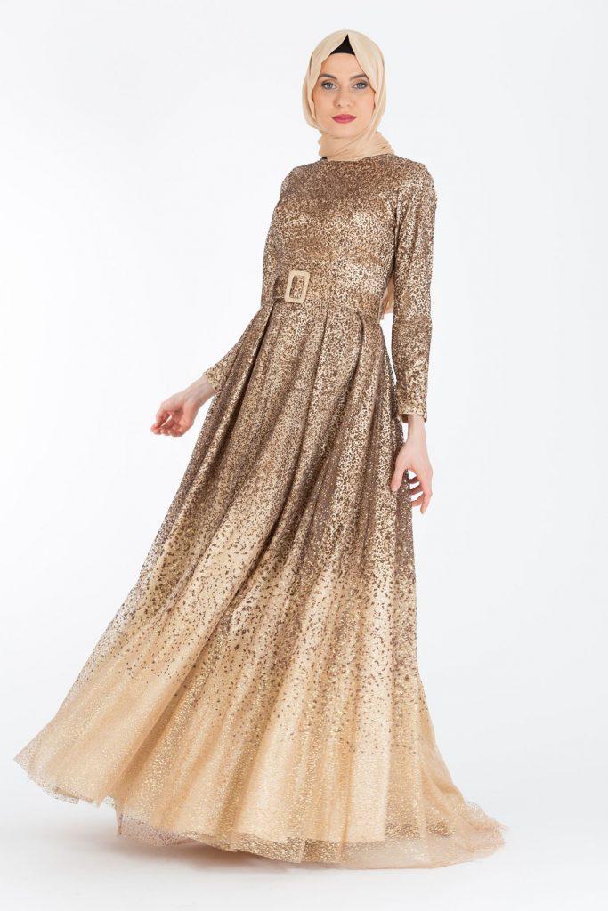 En Ucuz Armine Tesettur Abiye Elbise Modelleri 4