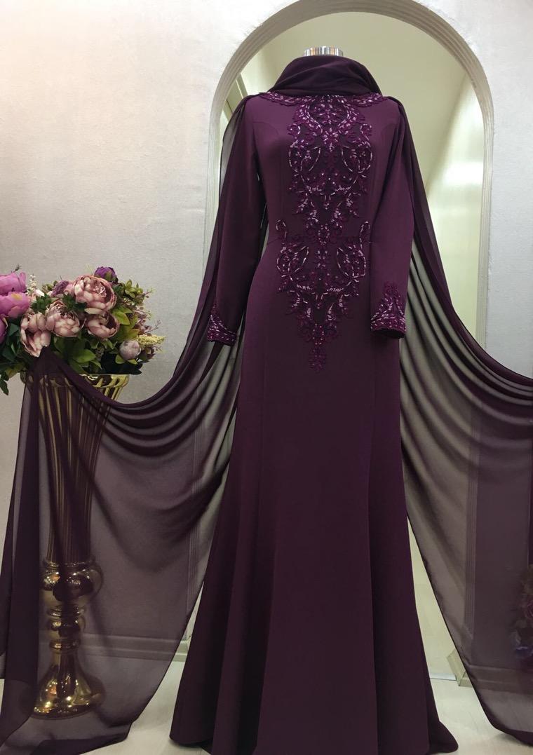 Instagram Tesettur Abiye Elbise Modelleri 10