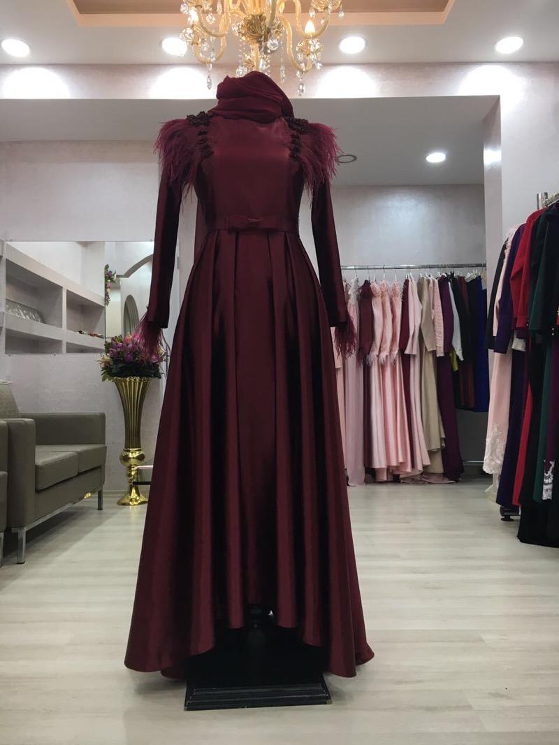 Instagram Tesettur Abiye Elbise Modelleri 11