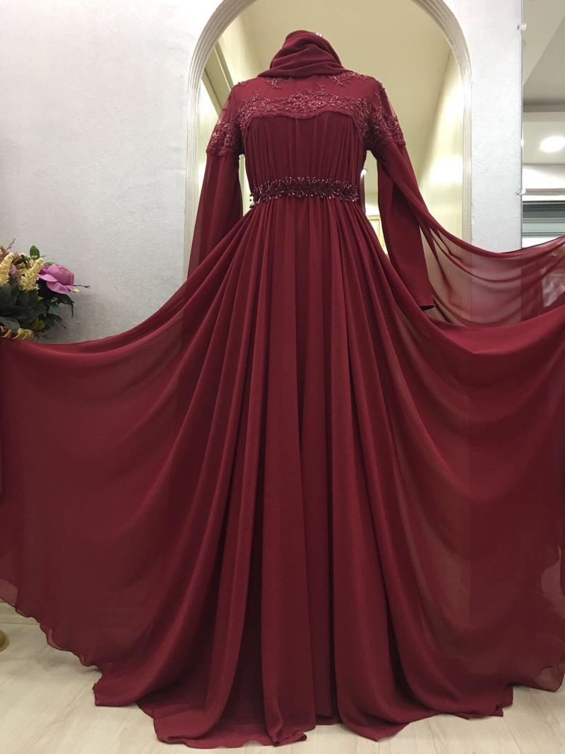 Instagram Tesettur Abiye Elbise Modelleri 4