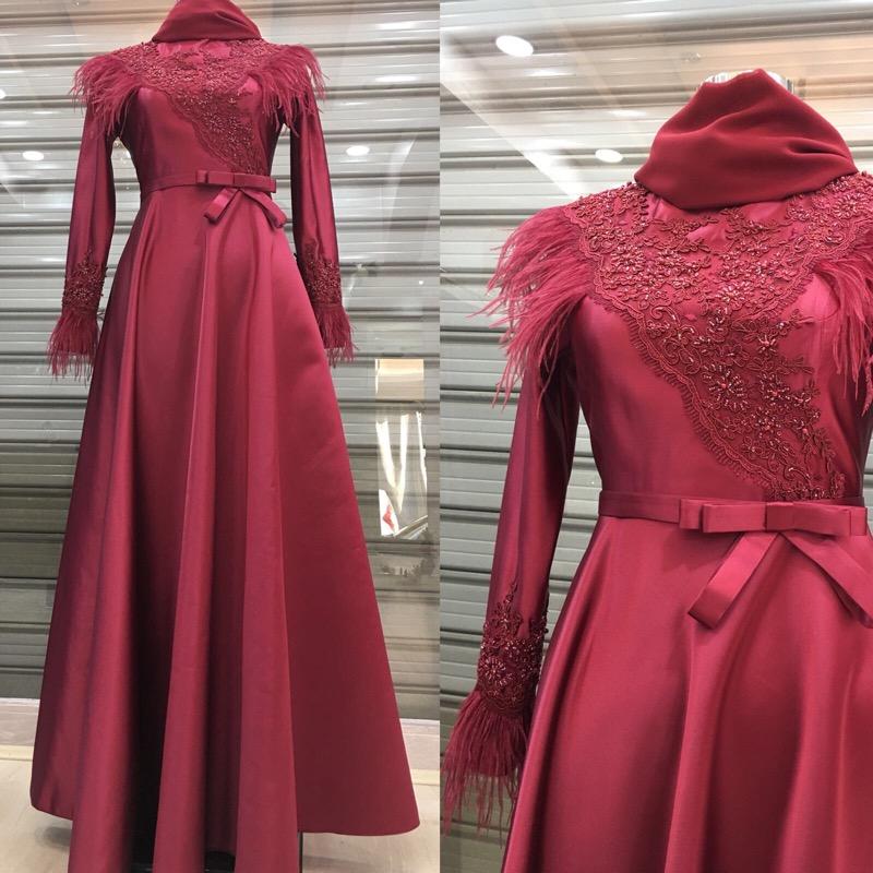 Instagram Tesettur Abiye Elbise Modelleri 5
