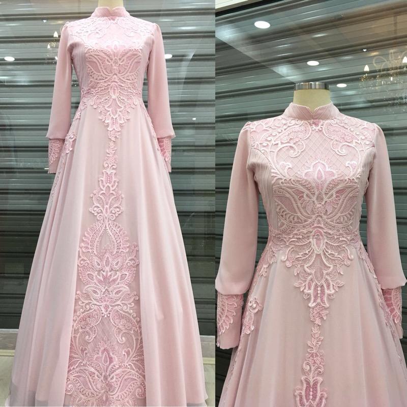 Instagram Tesettur Abiye Elbise Modelleri 9
