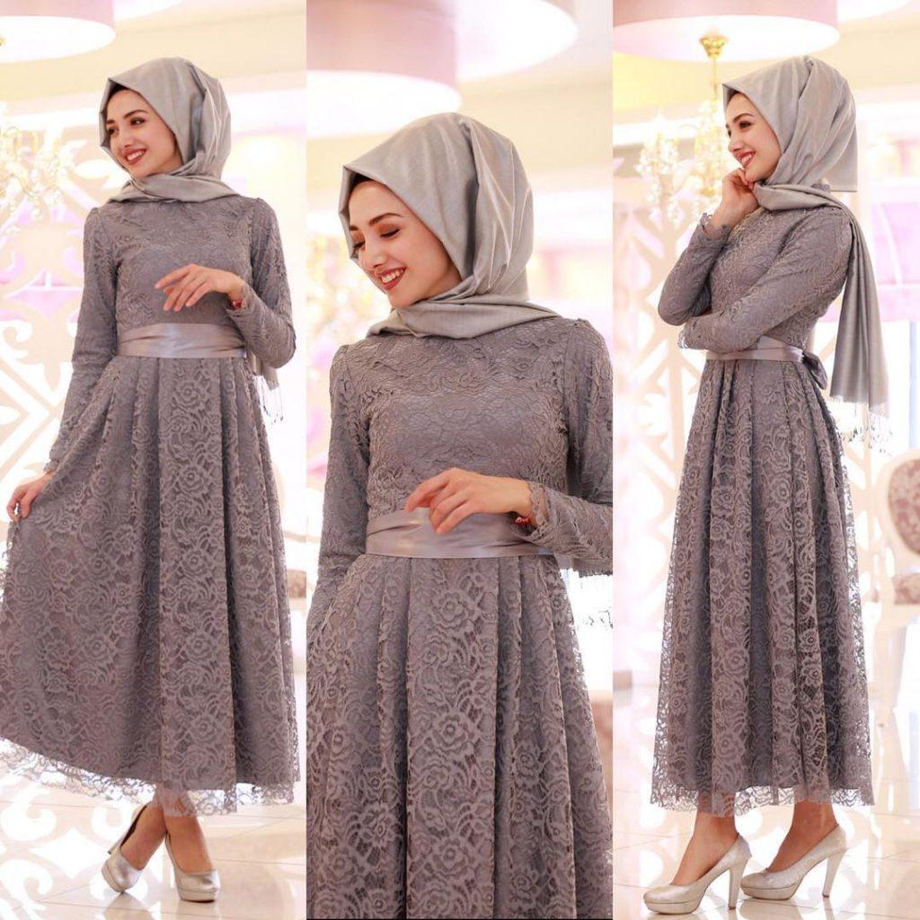 N11.Com Tesettur Abiye Elbise Modelleri 3
