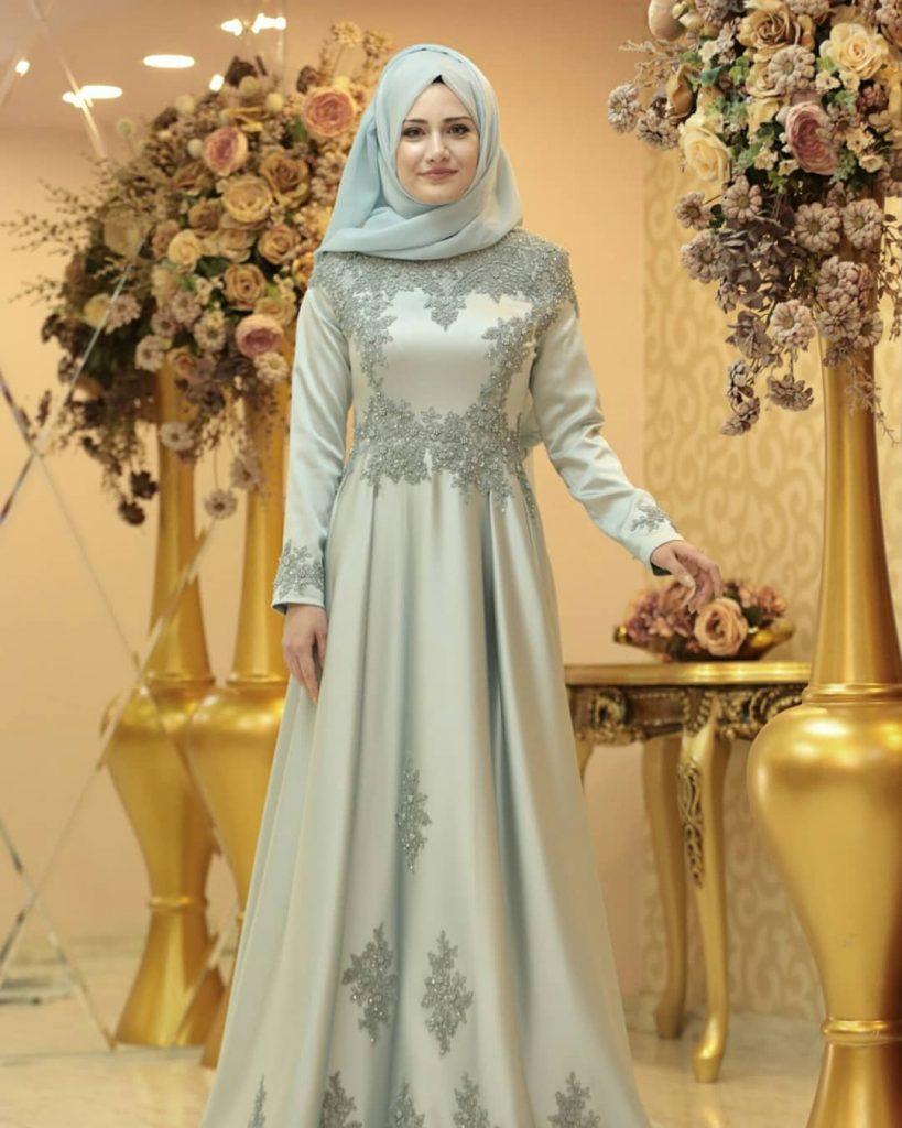 indirimli Tesettur Abiye Elbise Modelleri 1