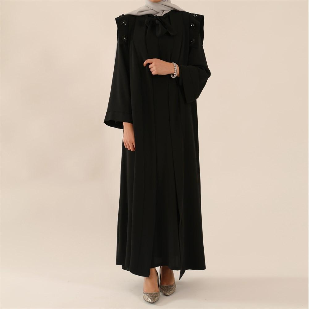 2018 Abaya Modelleri Siyah ABAYA - Abaya Modellerinde 2018 Trendi