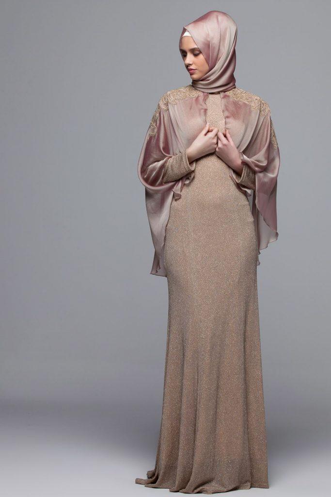 En Guzel Armine Tesettur Abiye Elbise Modelleri 5