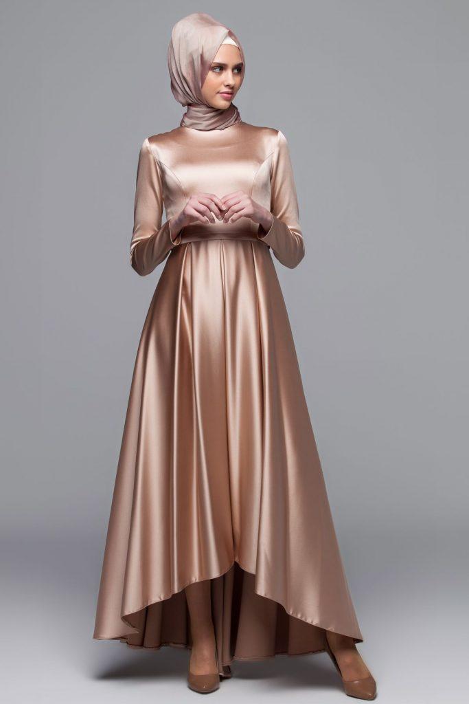 En Guzel Armine Tesettur Abiye Elbise Modelleri