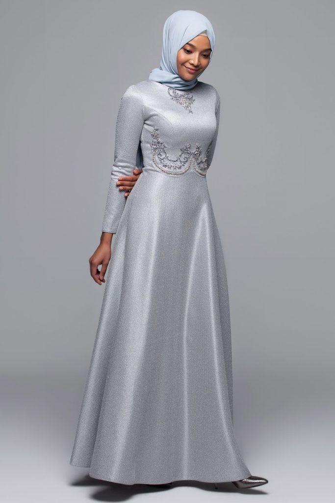 En Guzel Armine Tesettur Abiye Elbise Modelleri 7 683x1024 - En Güzel Armine Tesettür Abiye Elbise Modelleri
