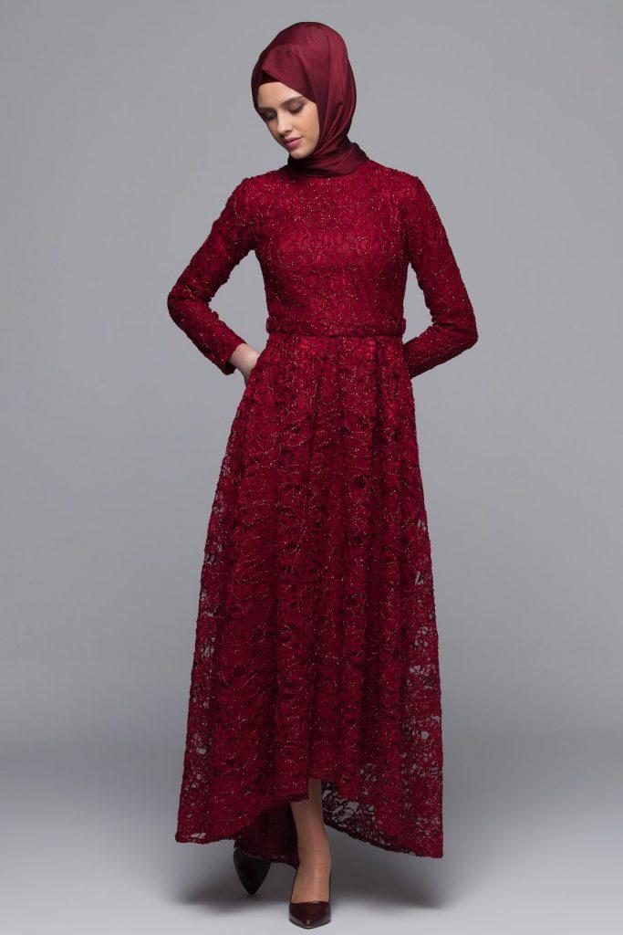 En Guzel Armine Tesettur Abiye Elbise Modelleri 8