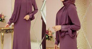 Tesetturlu Sade ve Sik Soz Nisan Abiye Elbise Modelleri 8