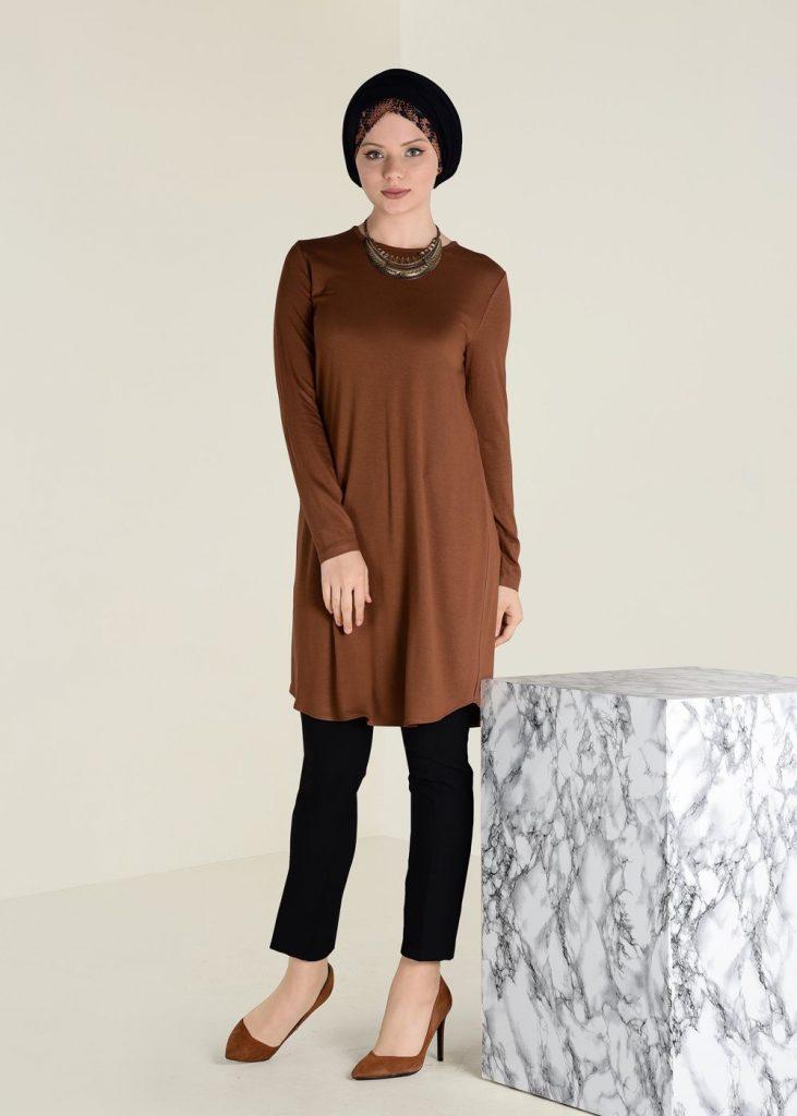 2018 Son Bahar Tesettur Giyim Trendi-ilayda-orme-tunik