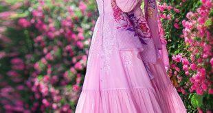 Modanisa Yeni Sezon Abiye Elbise Modeleri dream abiye elbise pembe muslima wear