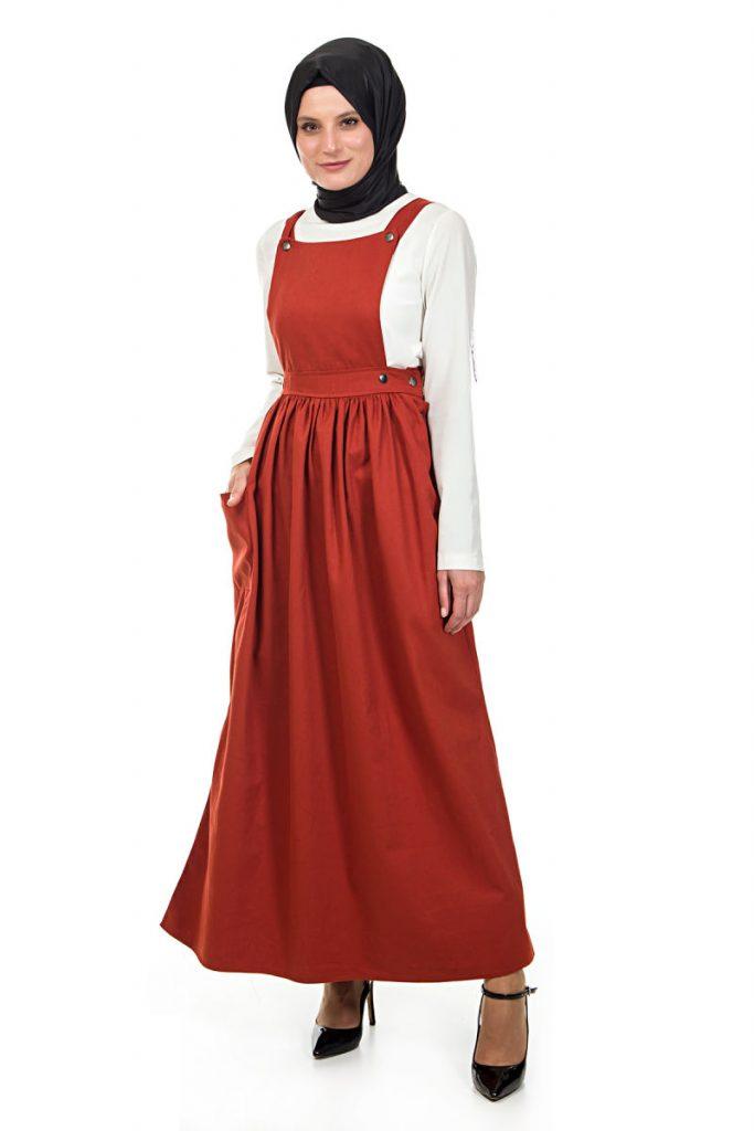 Tesettur Giyim Online Satis Siteleri salopet-3330-kiremit-white-friday