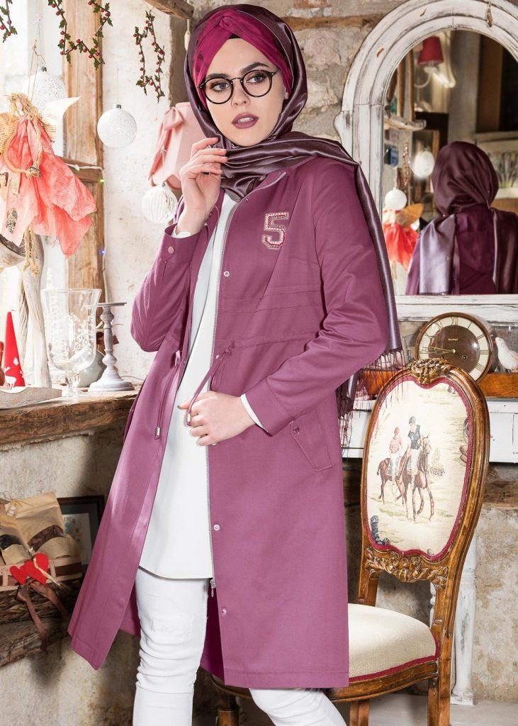 Tesettur Giyimde Almanya Online Shop-sapanca-trench-