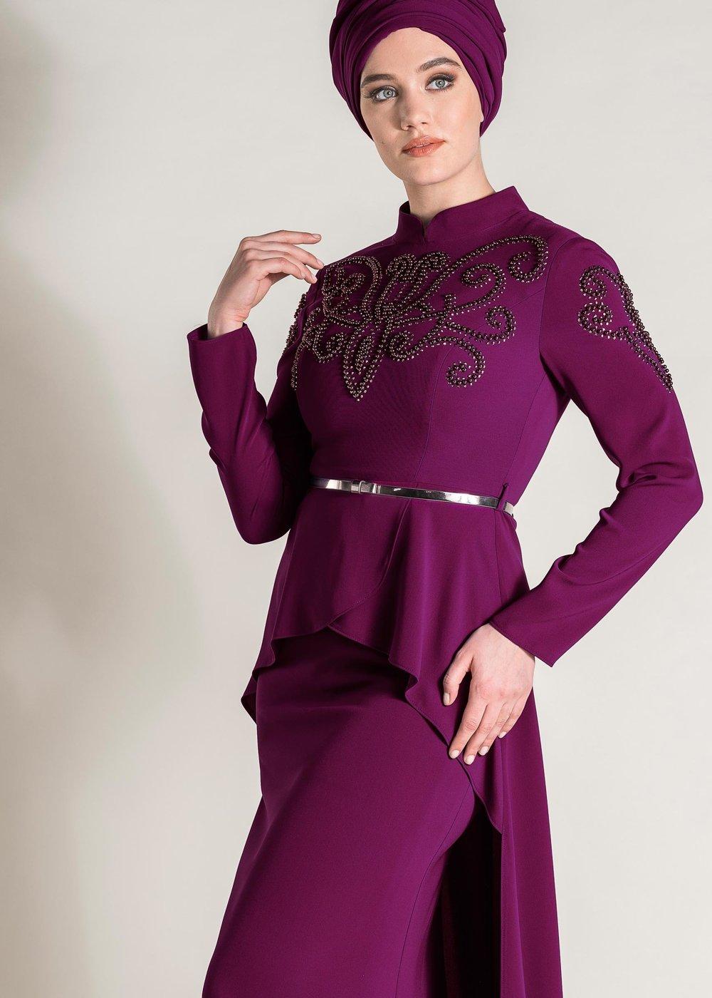 Tesettur Giyimde Almanya Online Shop-2li-pantolonlu takim-1
