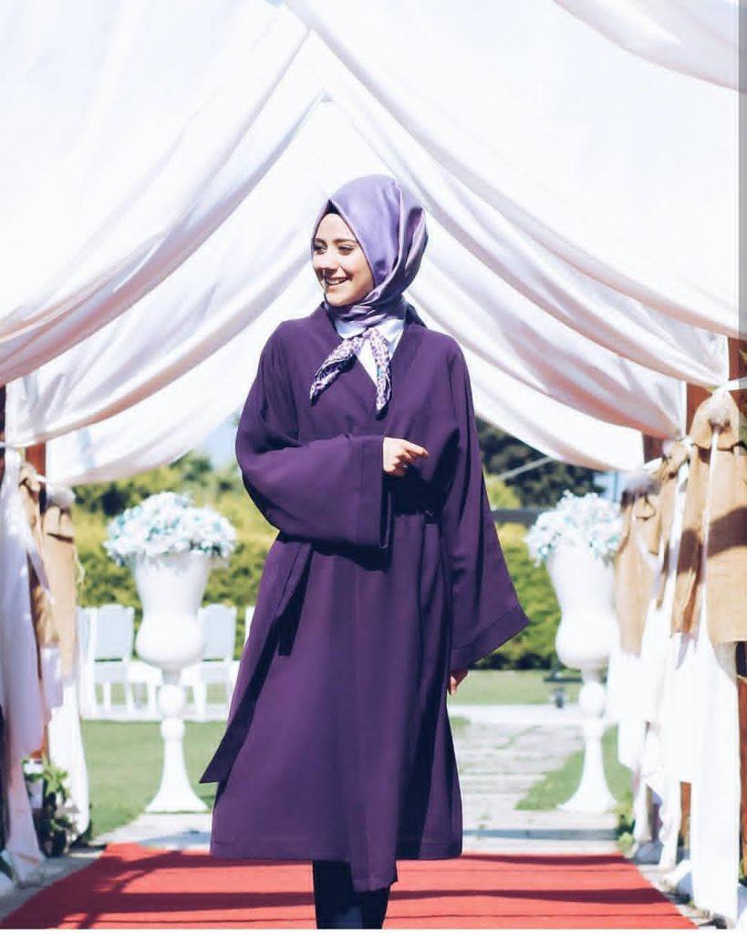2019 kis tesettur modelleri4 819x1024 - 2019 Kış Tesettür Modelleri ve Giyim Trendi