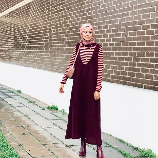 2019 kis tesettur modelleri7 - 2019 Kış Tesettür Modelleri ve Giyim Trendi