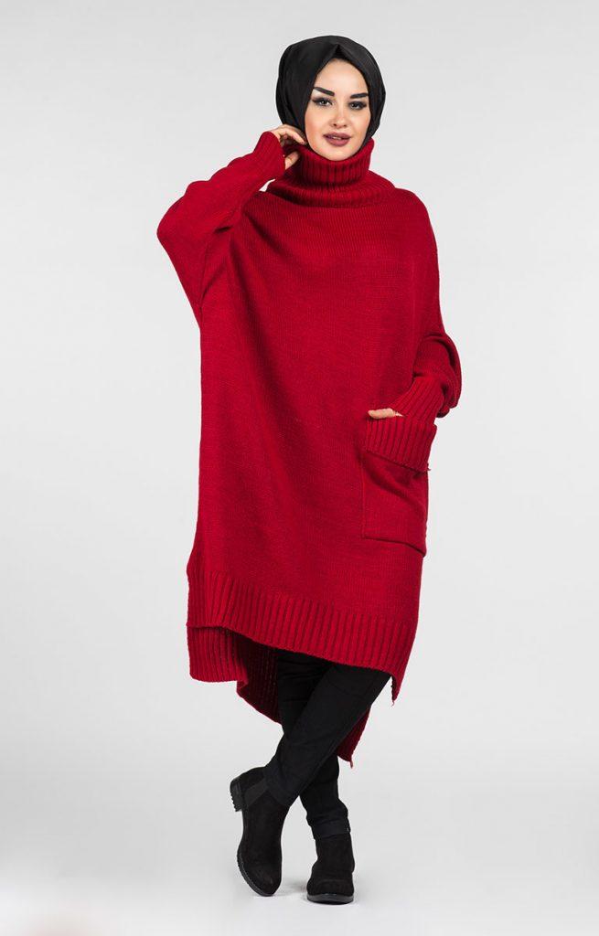 Tesettür Giyimin Kurtarıcısı Kazak Tunikler 10 655x1024 - Tesettür Giyimin Kurtarıcısı Kazak Tunikler