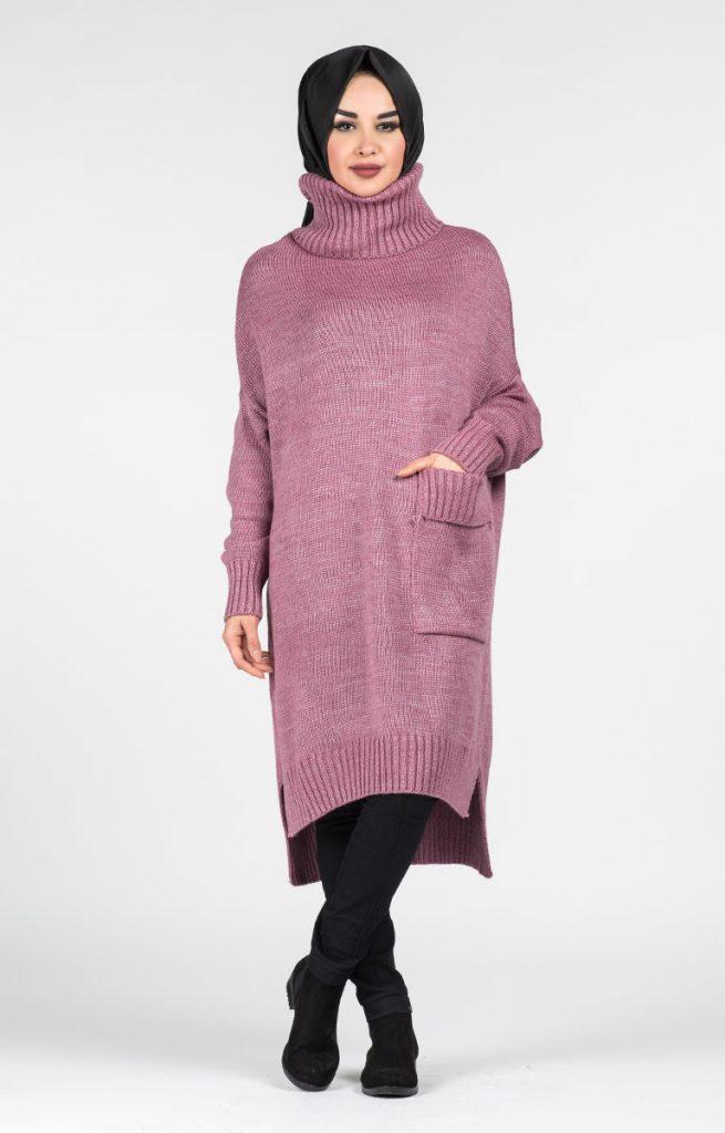 Tesettür Giyimin Kurtarıcısı Kazak Tunikler 11 655x1024 - Tesettür Giyimin Kurtarıcısı Kazak Tunikler