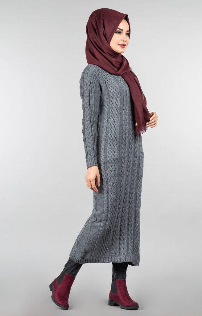 Tesettür Giyimin Kurtarıcısı Kazak Tunikler 13 655x1024 - Tesettür Giyimin Kurtarıcısı Kazak Tunikler