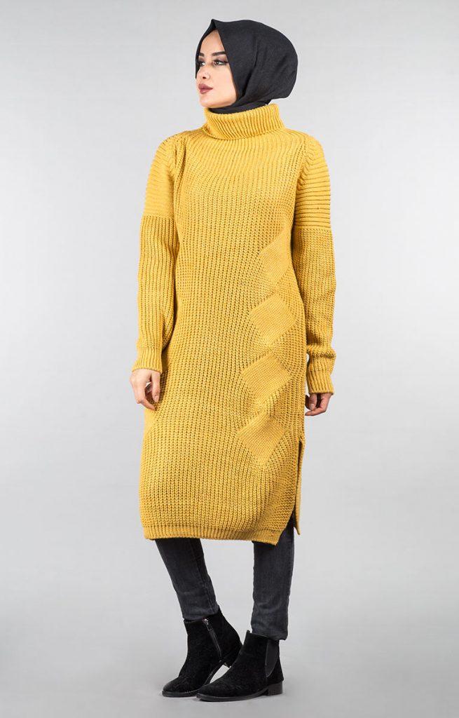 Tesettür Giyimin Kurtarıcısı Kazak Tunikler 16 655x1024 - Tesettür Giyimin Kurtarıcısı Kazak Tunikler