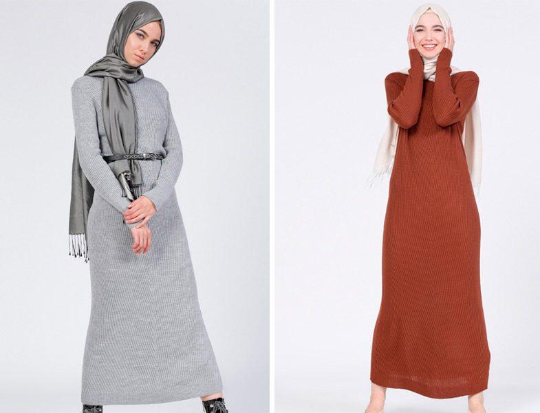 Tesettür Giyimin Kurtarıcısı Kazak Tunikler 20 - Tesettür Giyimin Kurtarıcısı Kazak Tunikler