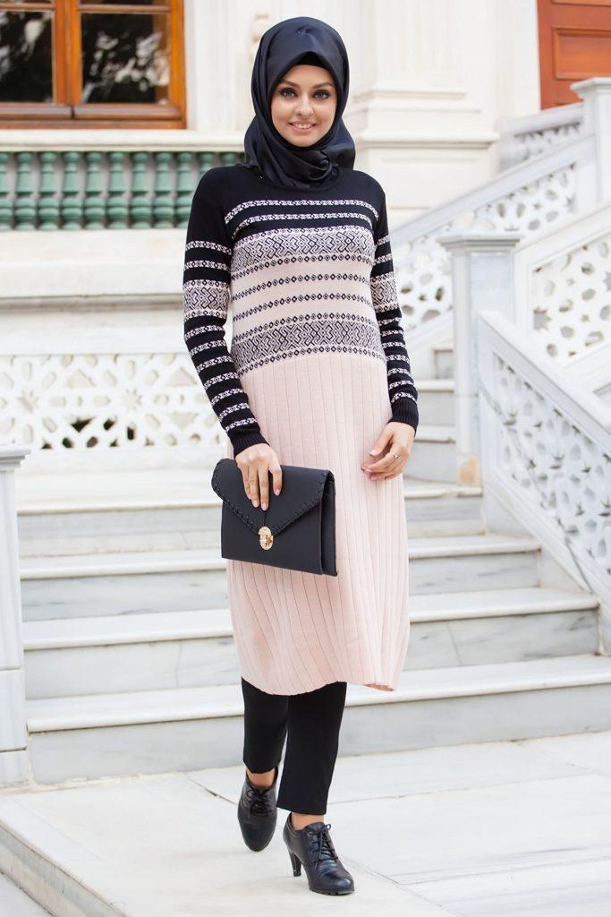 Tesettür Giyimin Kurtarıcısı Kazak Tunikler 22 683x1024 - Tesettür Giyimin Kurtarıcısı Kazak Tunikler
