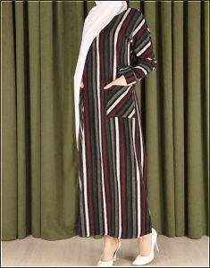 kislik tesettur elbise 4